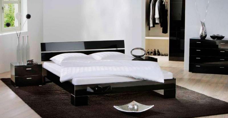 Стильный дизайн черной мебели
