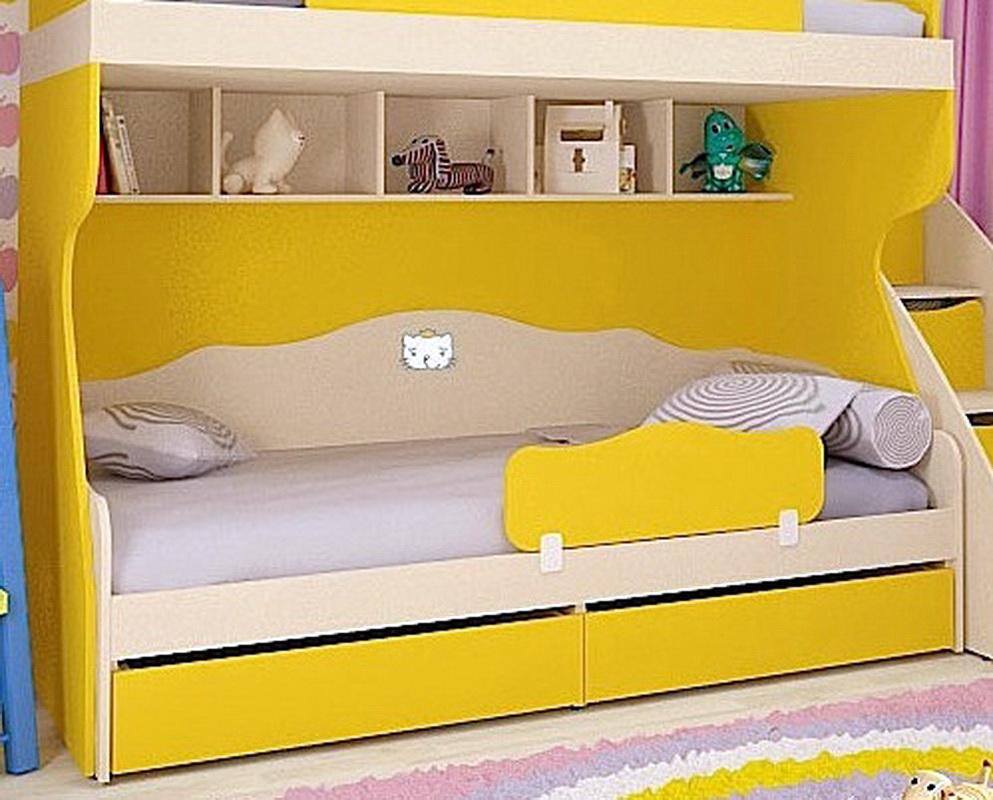 Стоит ли использовать желтые кровати в интерьере