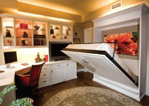 Стол-кровать для обустройство небольшой комнаты