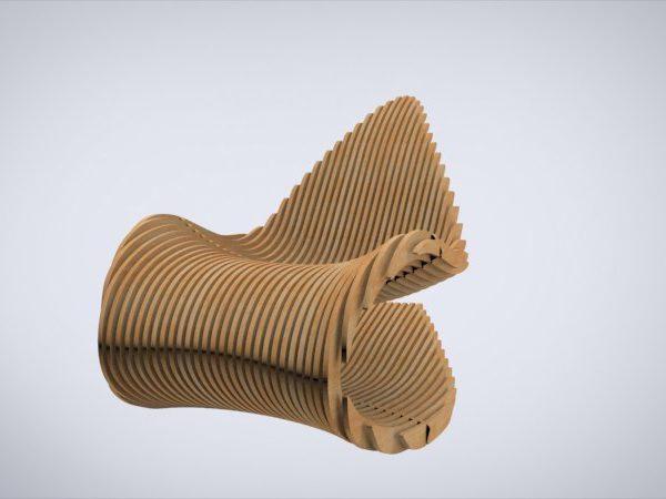 Стул параметрическое кресло-качалка