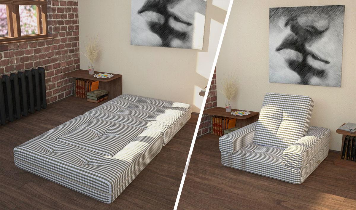 Трансформирующийся удобный матерас для сна