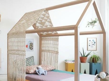 Удивительная кровать-домик для ребенка