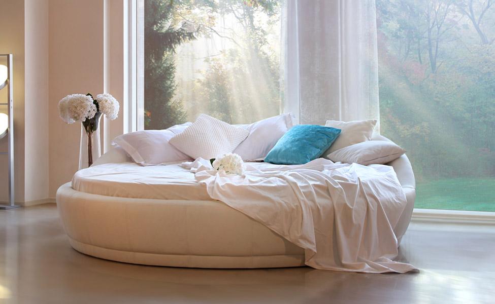 Удобна ли круглая кровать