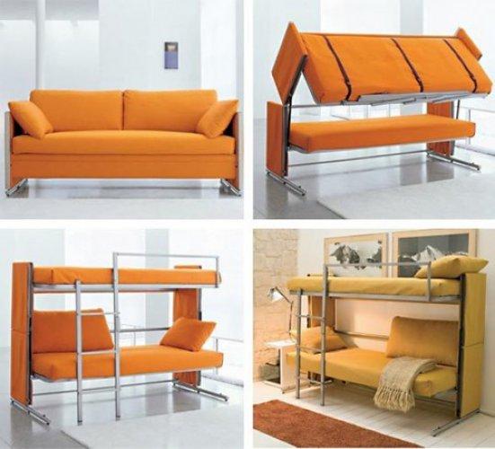 Удобная и практичная трансформирующаяся мебель