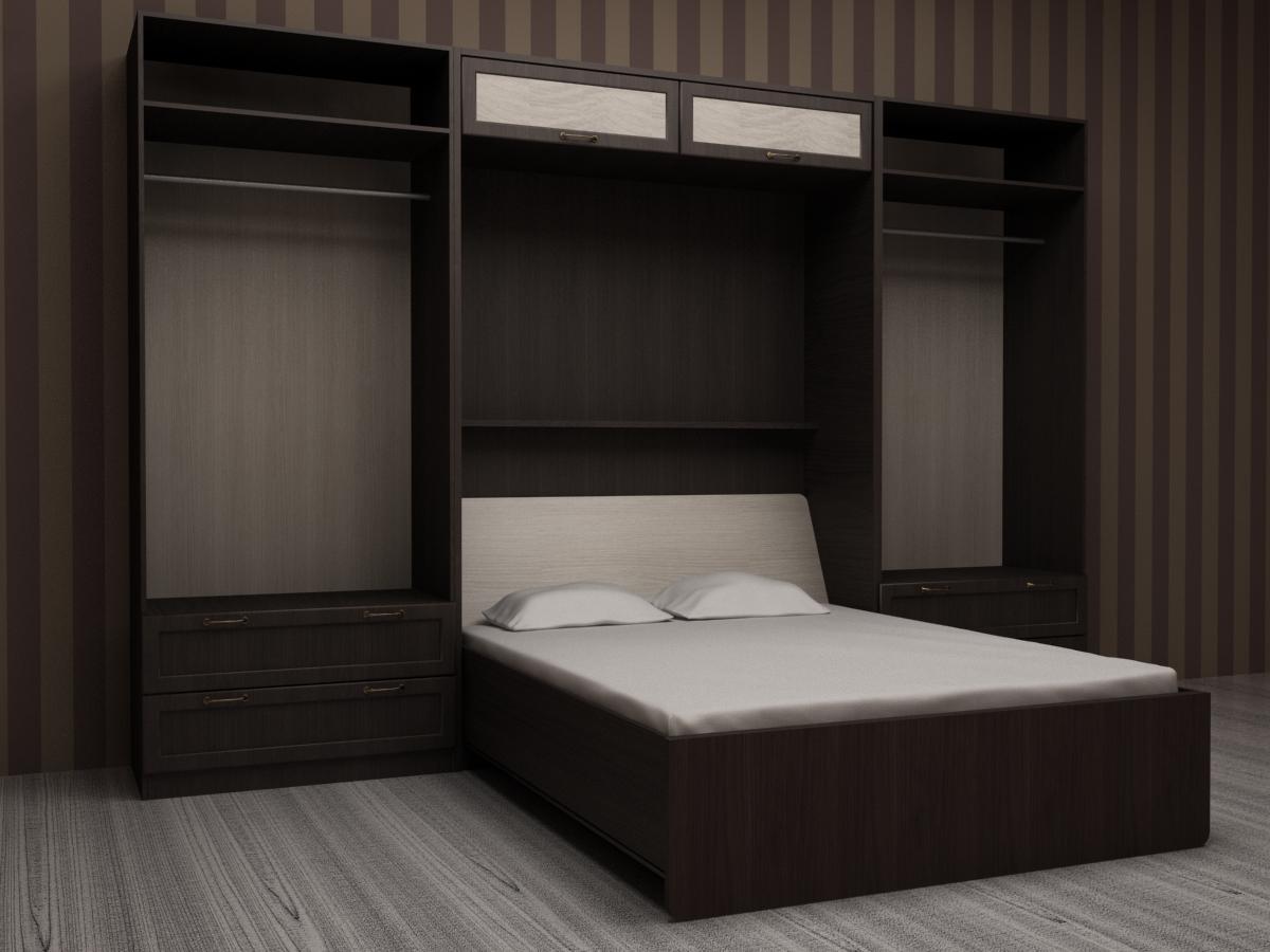 Удобная кровать для двоих