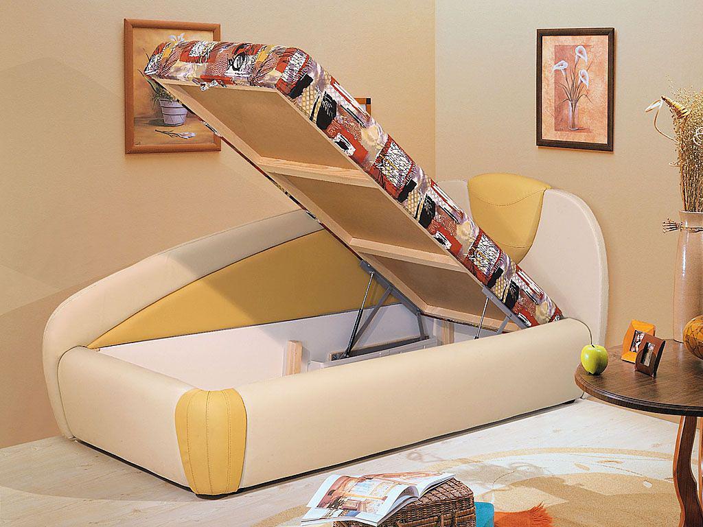 Удобная угловая детская софа для сна