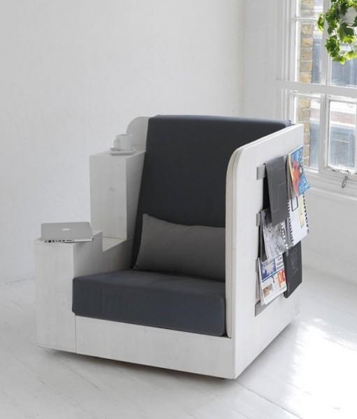 Удобное кресло для чтения книг