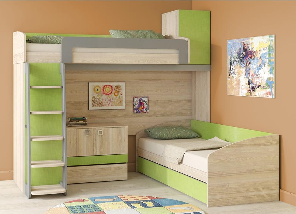 Угловые кровати для сна