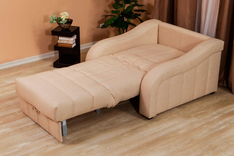 Установить кресло-кровать можно в любой точке комнаты