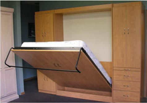 Устройство трансформирующейся мебели для сна