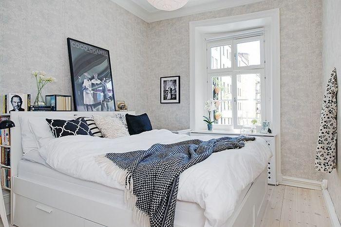 Вариант дизайна кровати