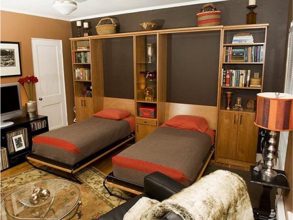 Встроенная кровать - удобная конструкция для спальни и детской комнаты