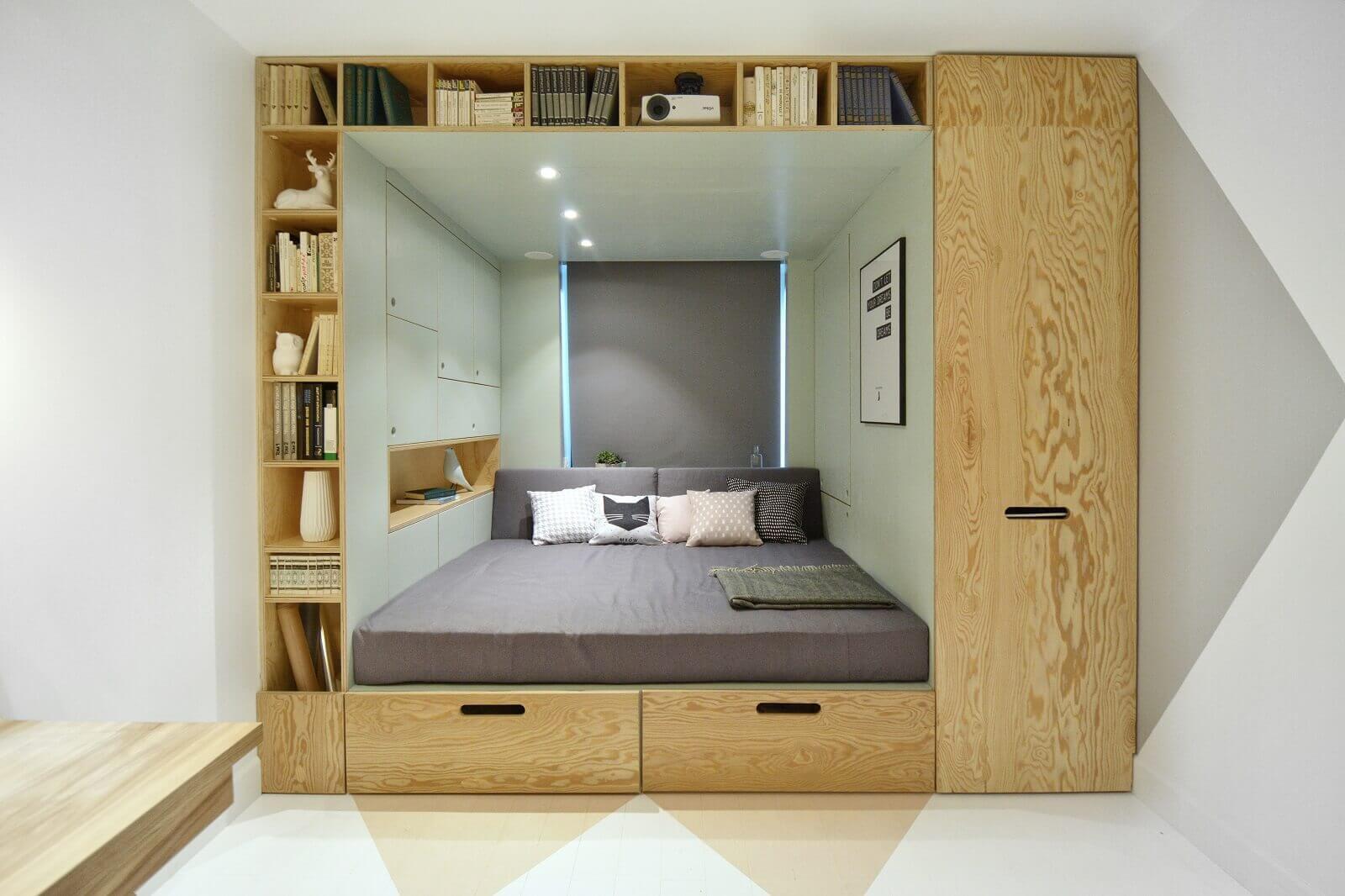 Встроенная мебель в нишу