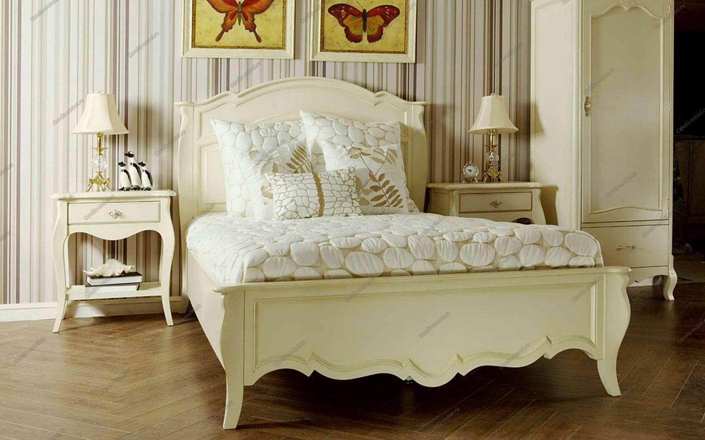 Выбираем кровати в стиле прованс