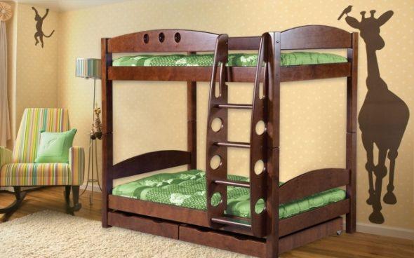 Высокие модели современных кроватей