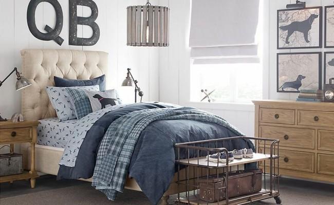 Железная кровать очень прочная