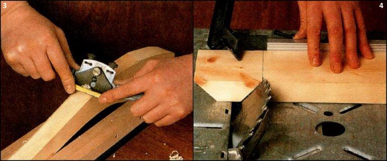 Заготовки ножек