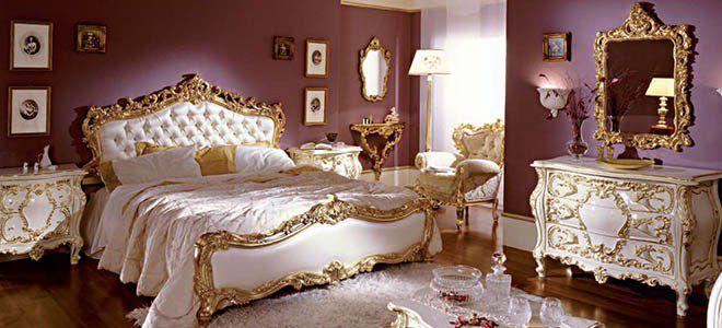 Барокко дизайн мебели