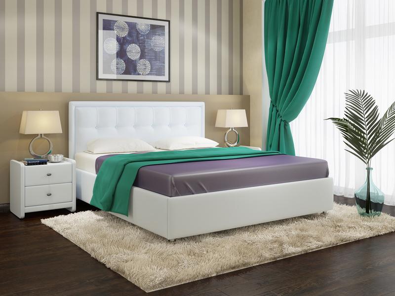 Белые покрытия современной мягкой мебели