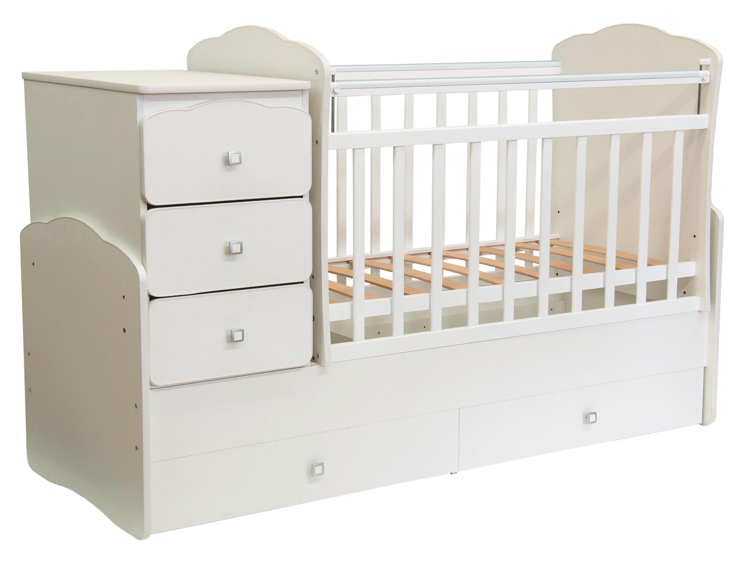 Белые предметы мебели для комнаты ребенка