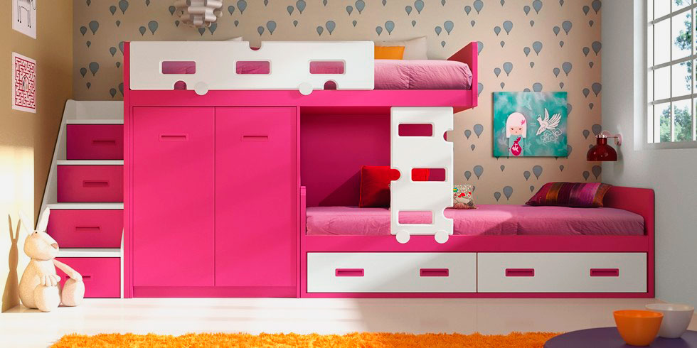 Большая мебель для спальни ребенка