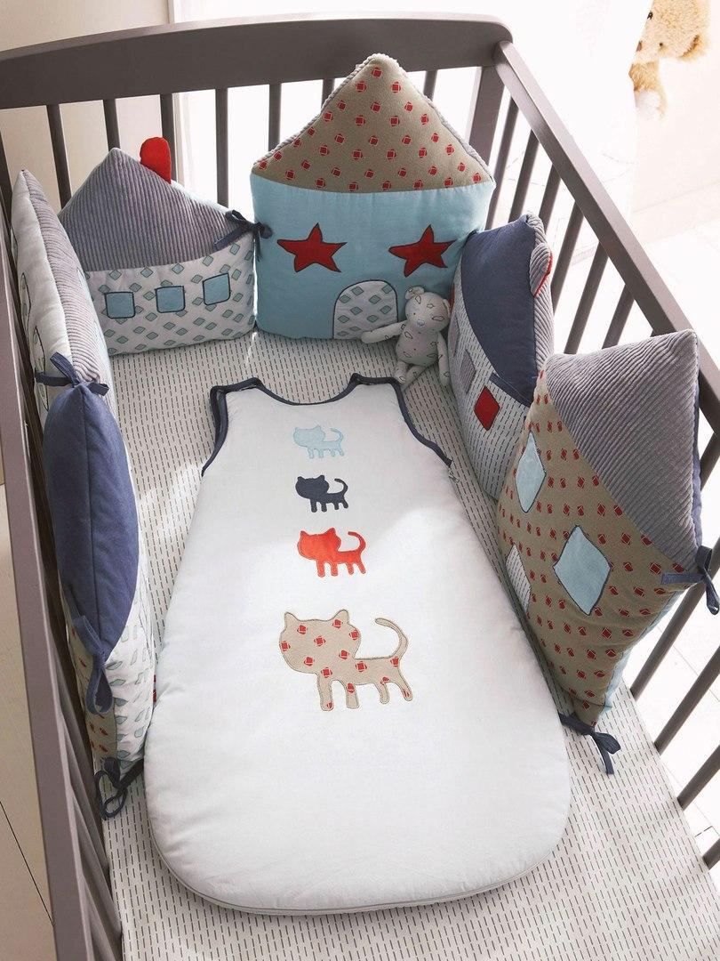 Бортики в кроватку с оригинальным дизайном