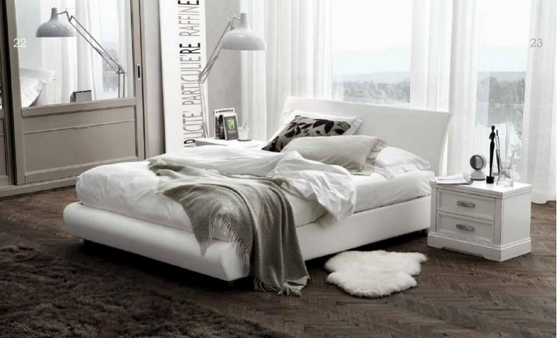Чем хороша белая кровать