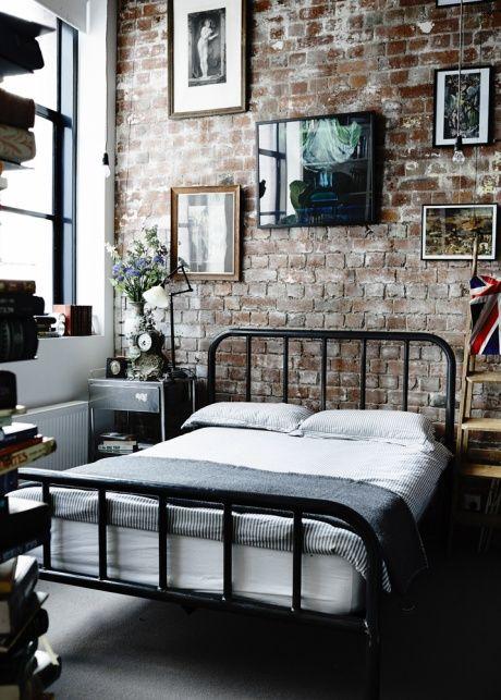 Черные оттенки в дизайне спальни