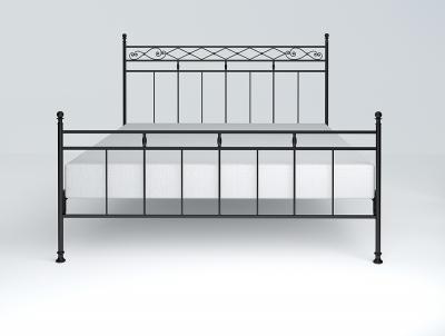 Черный каркас кровати
