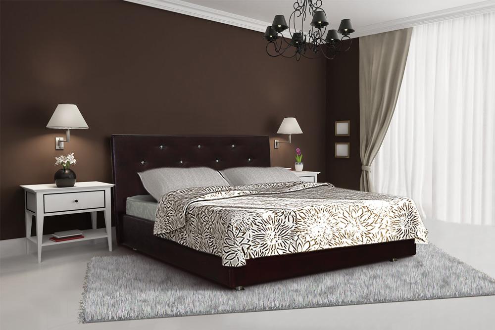 Декор современной кровати