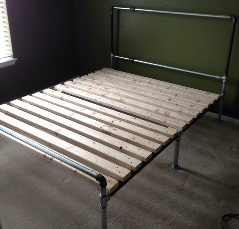 Делаем основание кровати из металла