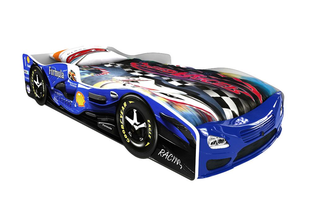 Детская кровать-машина Формула 1