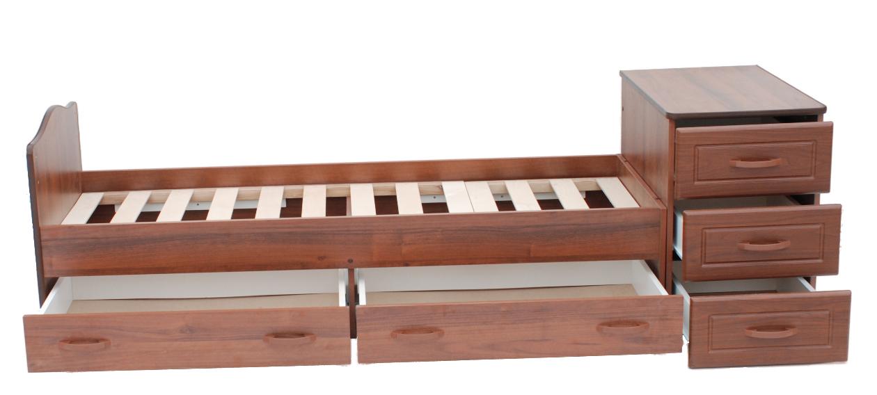 Детская кровать-трансформер из натурального дерева