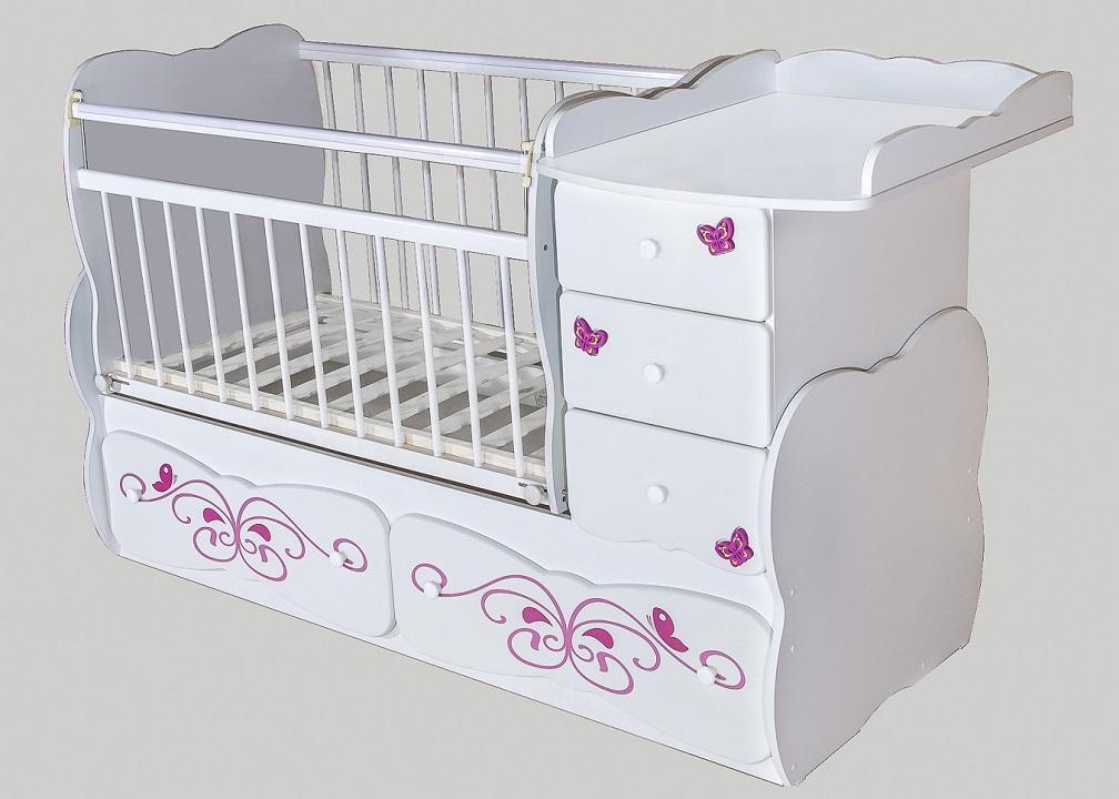 Детская кроватка-трансформер для новорожденных