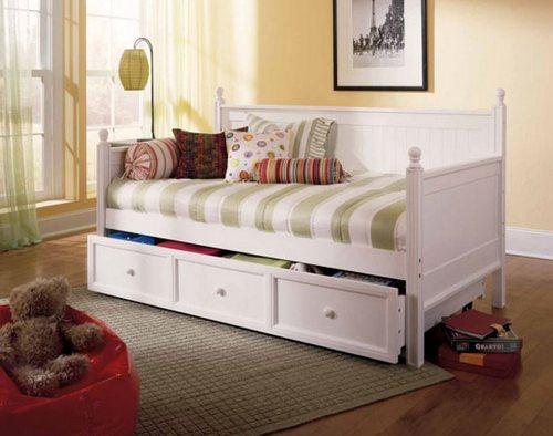 Детская кушетка-кровать с ящиками