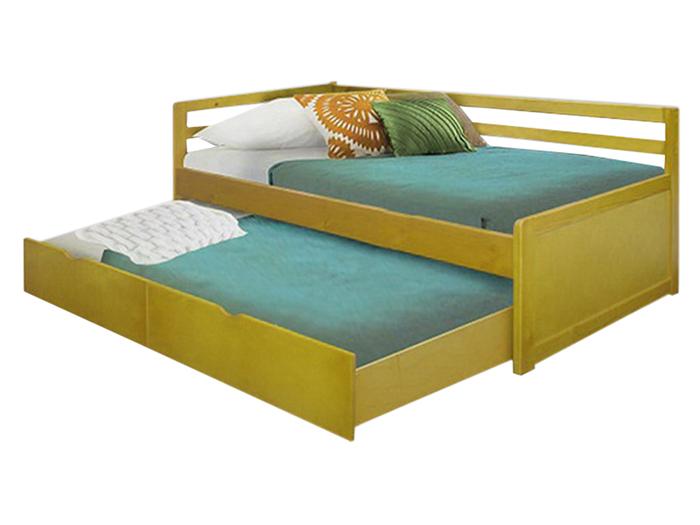 Детская раздвижная кровать из сосны