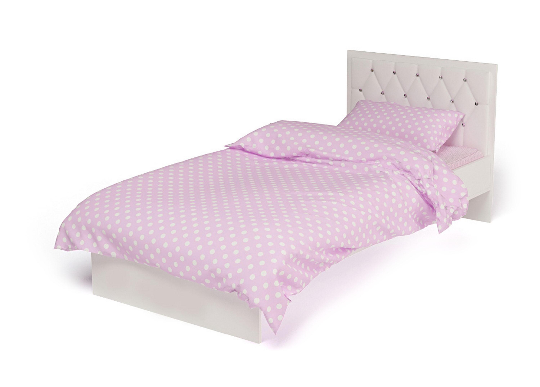 Детская стеганая современная кровать