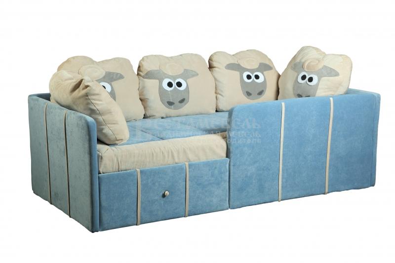 Детский диван с бортиками