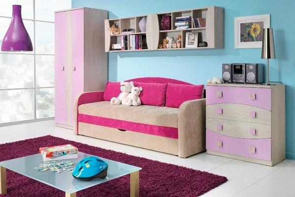 Диван кровать в детской