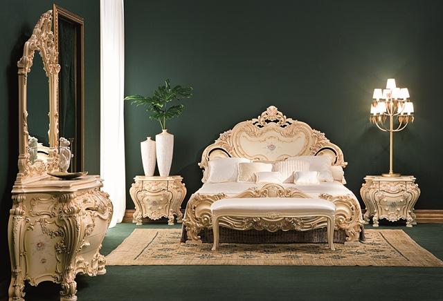 Дизайн комнаты в стиле барокко