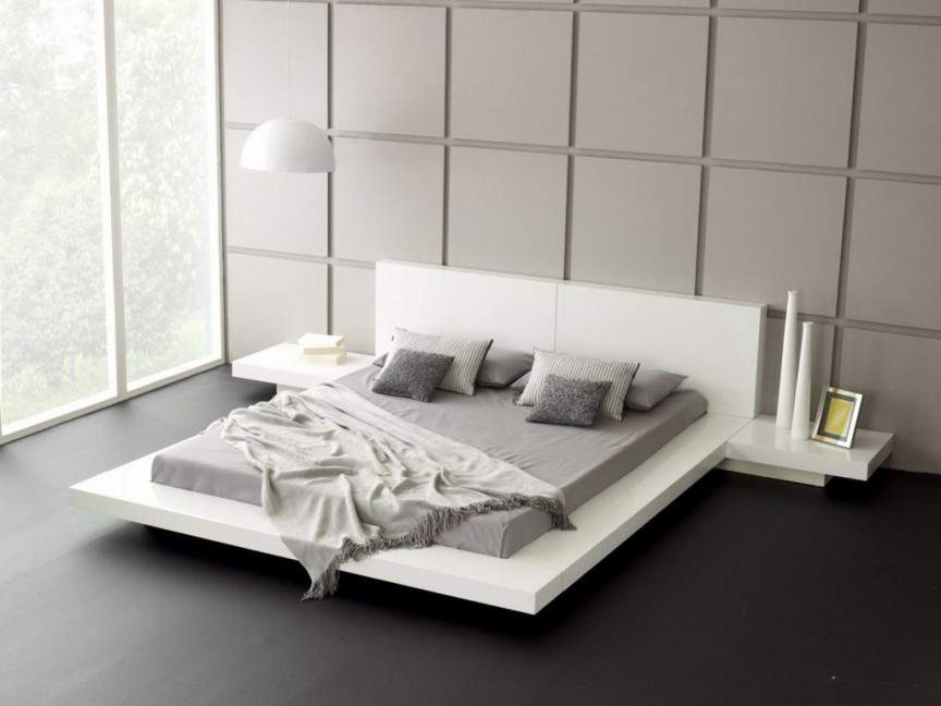 Дизайнеры создали «парящую» кровать