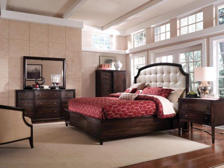 Для двухспальной кровати учитывайте расстояние для прохода к кровати
