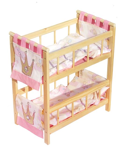 Двухэтажная мебель для игр ребенка