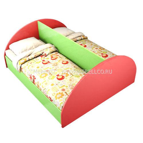 Двухрядная кровать
