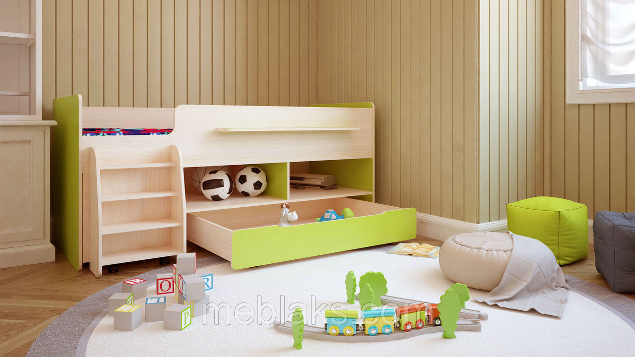 Двухъярусная детская мебель