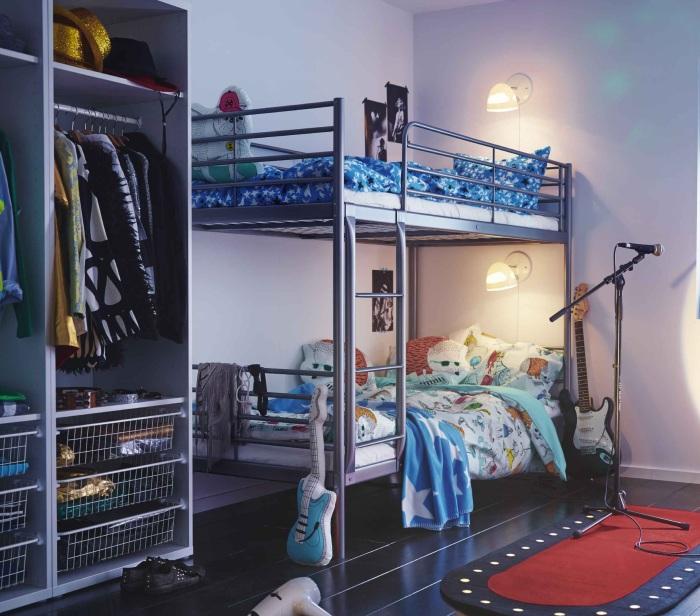 Двухъярусная мебель для подростка