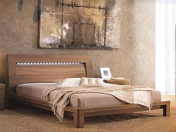 Двуспальная экологически чистая кровать
