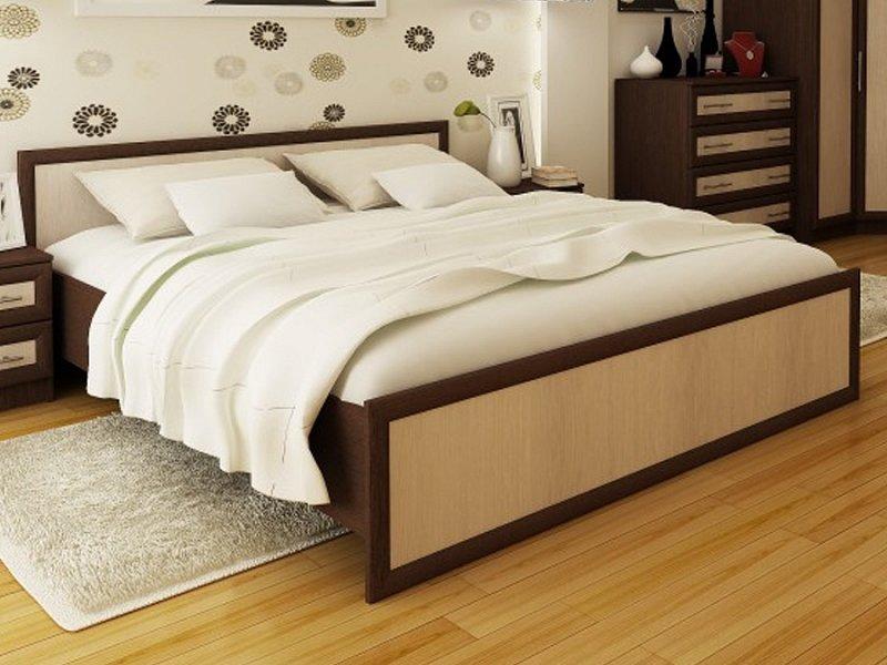 Двуспальная кровать модерн