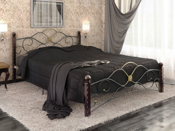 Двуспальное прочное ложе для сна