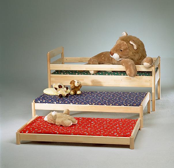 Финские кровати для детского сада, экономящие пространство